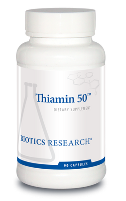 Thiamin 50 90 Capsules Biotics Research