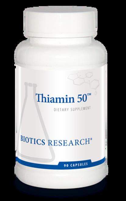 Thiamin 50 90 Capsules Biotics Research