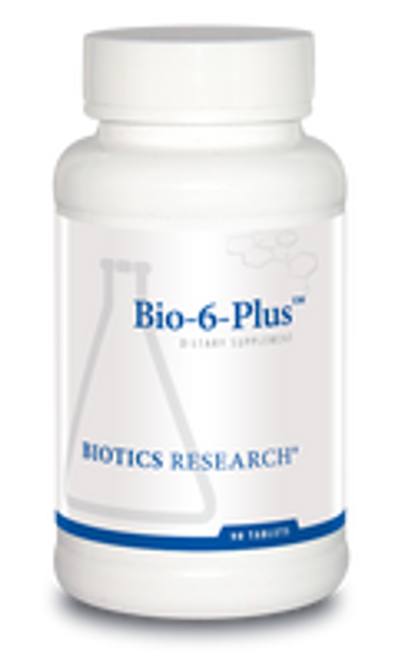 Bio-6-Plus 90 Tablets Biotics Research