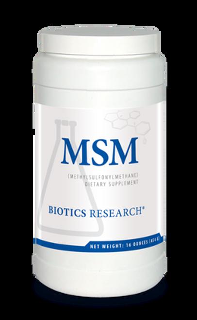 MSM Powder 16 oz (454 Grams) Biotics Research