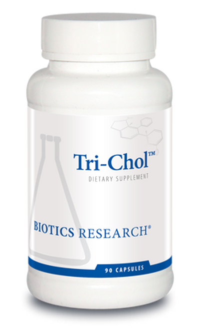 Tri-Chol 90 Capsules Biotics Research