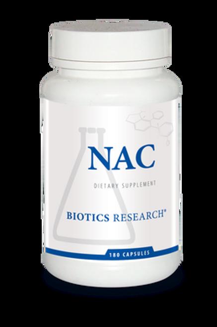 NAC 180 Capsules Biotics Research