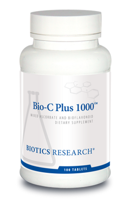Bio-C Plus 1000 100 Tablets Biotics Research