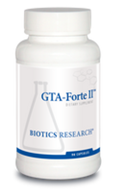 GTA-Forte II 90 Capsules Biotics Research