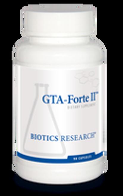 GTA-Forte II 90 Capsules Biotics Research