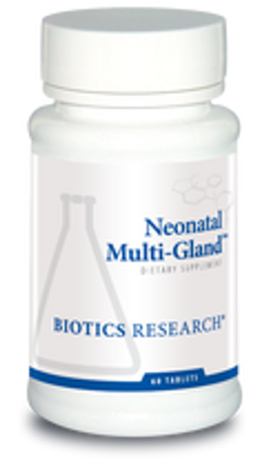 Neonatal Multi-Gland 60 Tablets Biotics Research