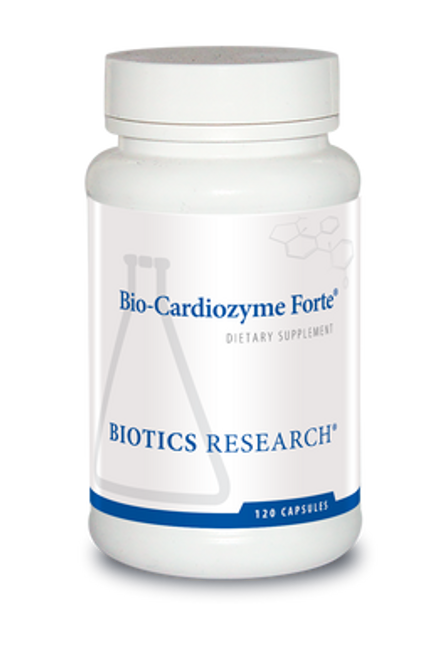 Bio-Cardiozyme Forte 120 Tablets Biotics Research