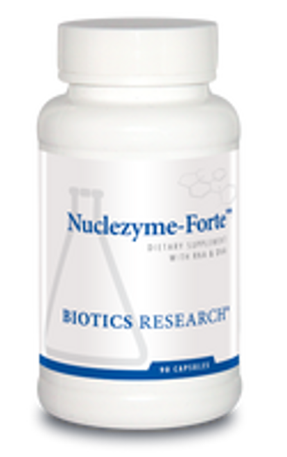 Nuclezyme-Forte 90 Capsules Biotics Research