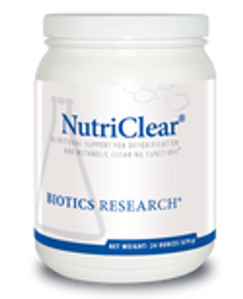 Nutriclear Pea 24 oz (670 grams)  Biotics Research