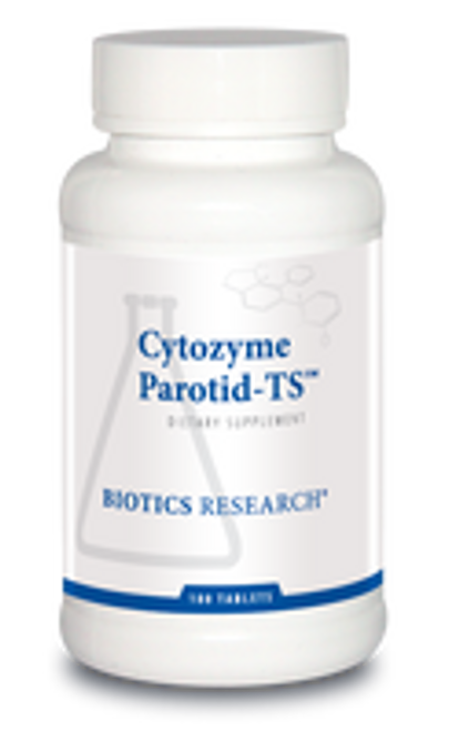 Cytozyme Parotid-TS 180 Tablets Biotics Research