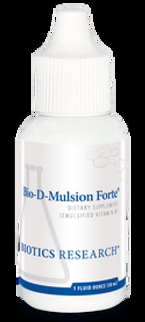 Bio-D-Mulsion Forte 1 oz Biotics Research