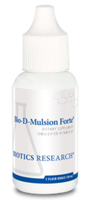 Bio-D-Mulsion Forte 1 oz Biotics Research