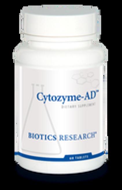 Cytozyme-AD 60 Tablets Biotics Research