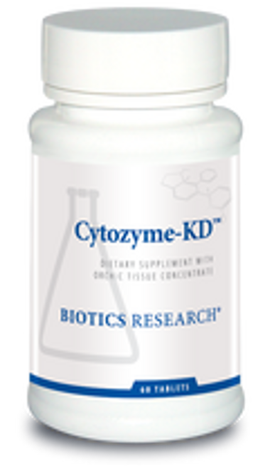 Cytozyme-KD 60 Tablets Biotics Research