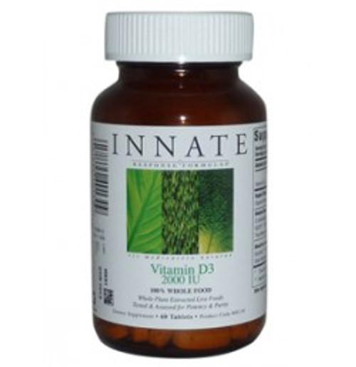Vitamin D-3 2,000 IU 60 Tablets (40130)