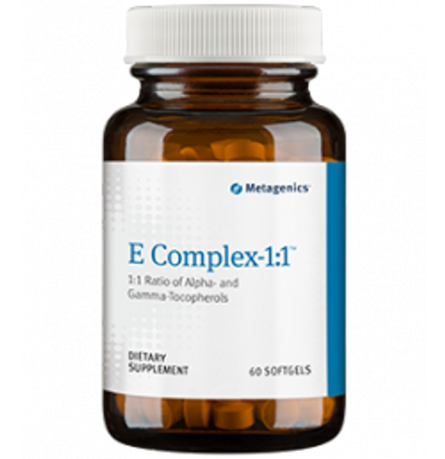 E Complex 1:1 60 Softgels (EC007)