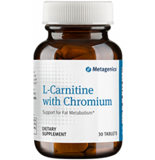 L-Carnitine with Chromium 30 Tablets (LCAR)