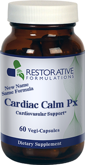 Cardiac Calm Px Capsules 60 vcaps Restorative Formulations