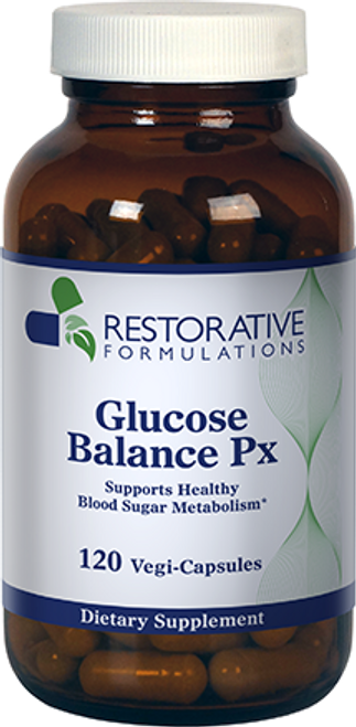 Glucose Balance Px 120 vegi-capsules Restorative Formulations