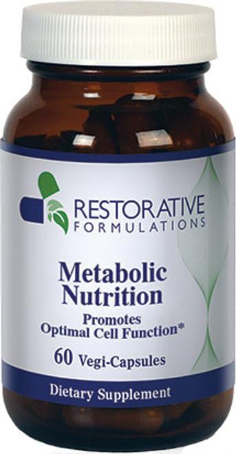 Metabolic Nutrition- 60 vcaps Restorative Formulations