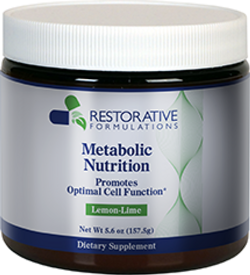 Metabolic Nutrition Powder Restorative Formulations