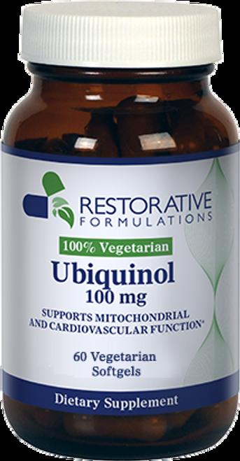Ubiquinol 100 mg 60 softgels Restorative Formulations