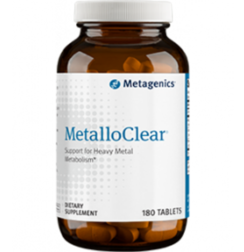 MetalloClear 180 Tablets (MCLR)