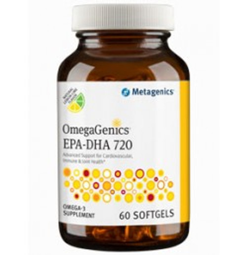 OmegaGenics EPA-DHA 720 60 Softgels (EPAL7)
