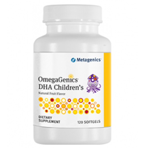 OmegaGenics DHA Children's 120 Softgels (DHACHEW)