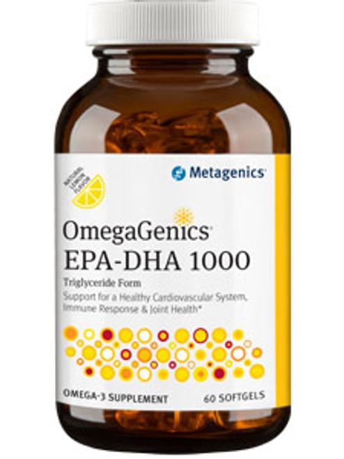 OmegaGenics EPA-DHA 1000 60 softgels (EPATG)