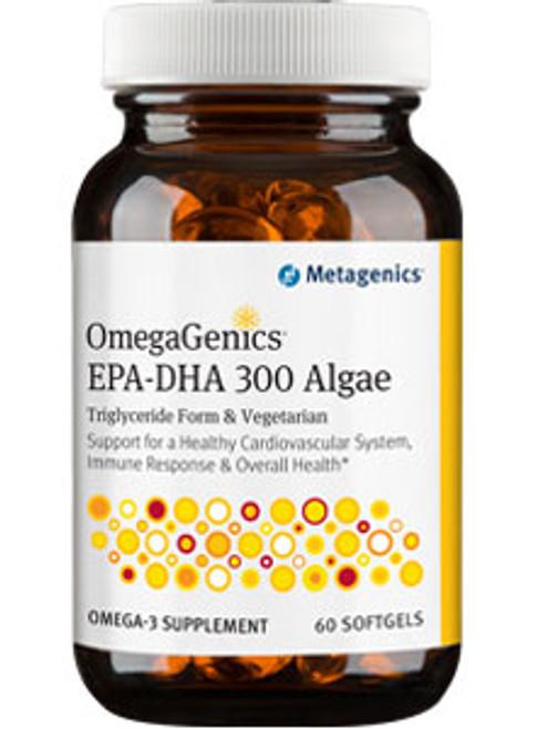 OmegaGenics EPA-DHA 300 Alg 60 softgels (EPA300AL)