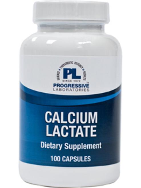 Calcium Lactate 115 mg 100 caps (CAL17)