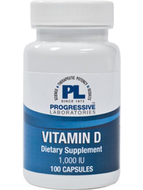 Vitamin D 1000 IU 100 caps (VID4)