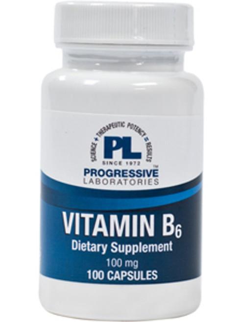B-6 100 mg 100 caps (B-6)