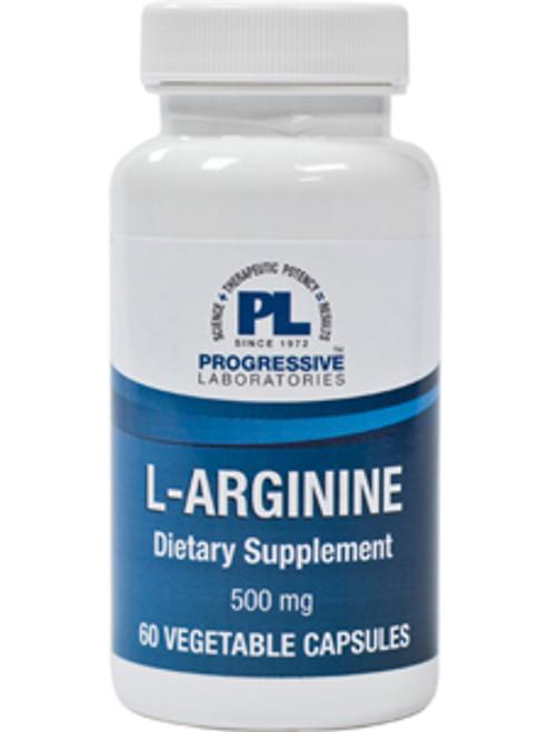 L-Arginine 500 mg 60 vcaps (ARGI3)