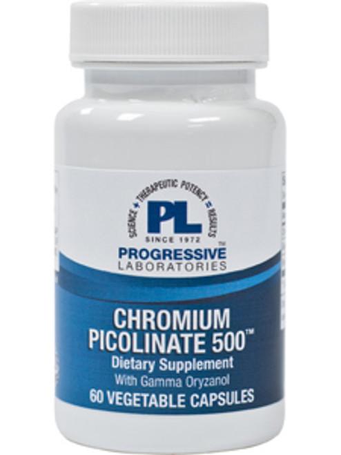 Chromium Picolinate 500 60 vcaps (CHRO5)