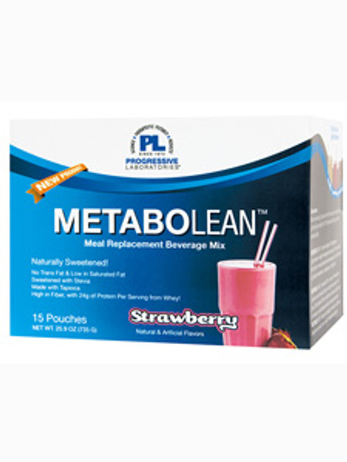 MetaboLean Strawberry 15 pouches (P37138)