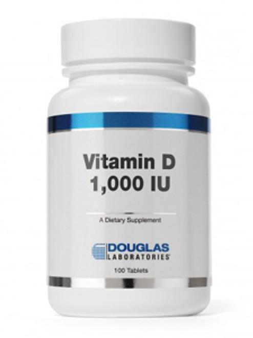 Vitamin D-3 1000 IU 100 tabs (DVIT2)