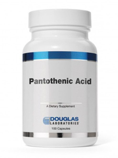 Pantothenic Acid 500 mg 100 caps (PAN55)