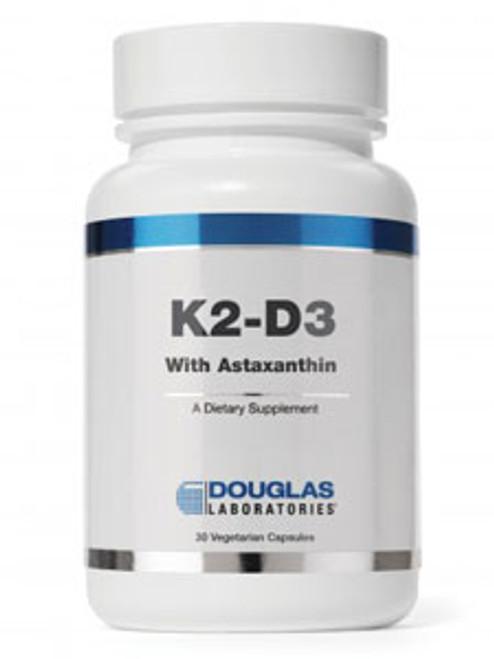 K2-D3 w/Astaxanthin 30 vegcaps (D40638)