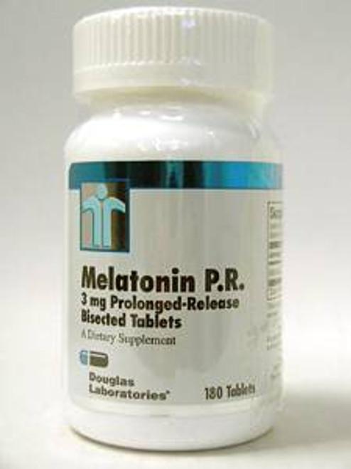 Melatonin PR 3 mg 180 tabs (MEL38)
