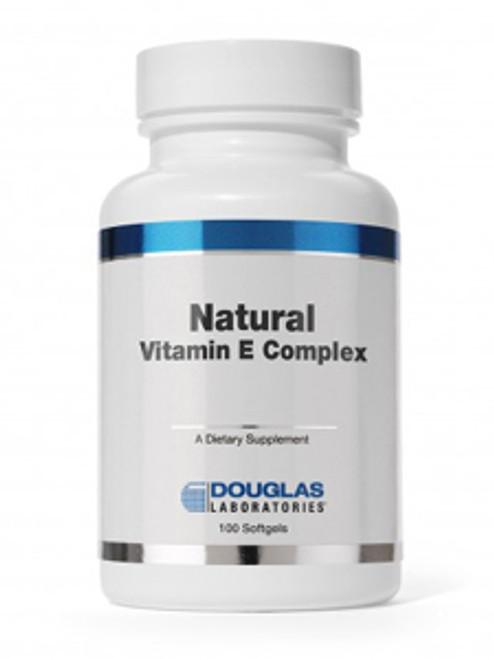 Natural Vitamin E Complex 400 IU 100gels (ECAP1)