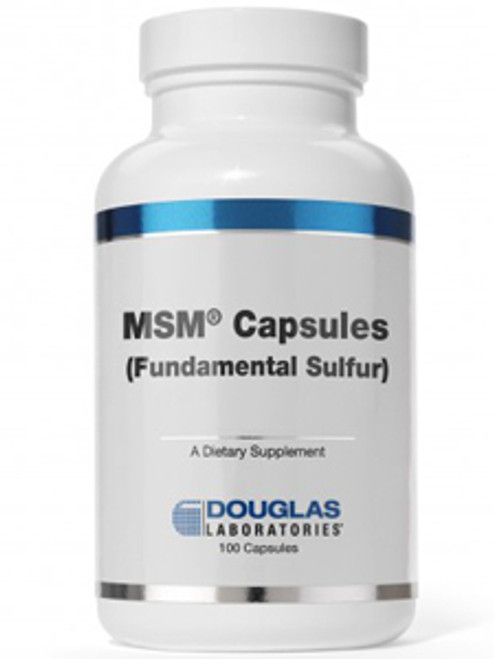 MSM Capsules Fundamental Sulfur 100 caps (MSMC)