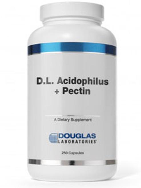 D.L. Acidophilus + Pectin 250 caps (DLAP)