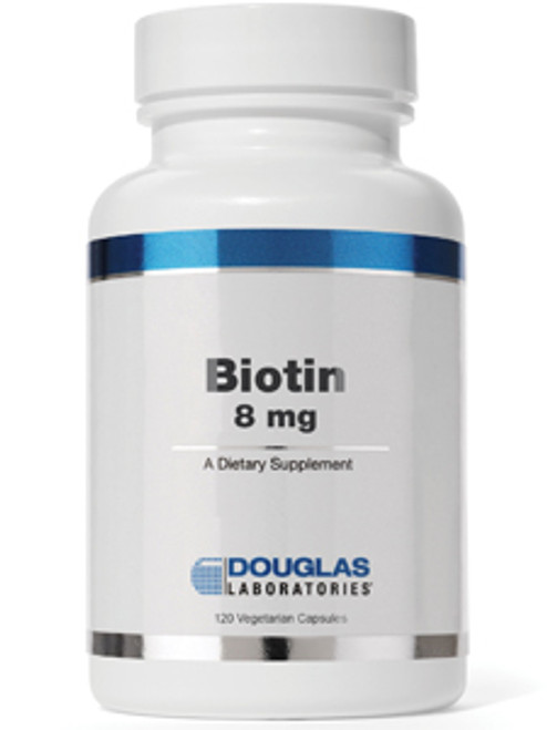 Biotin 8 mg 120 vegcaps (D77613)