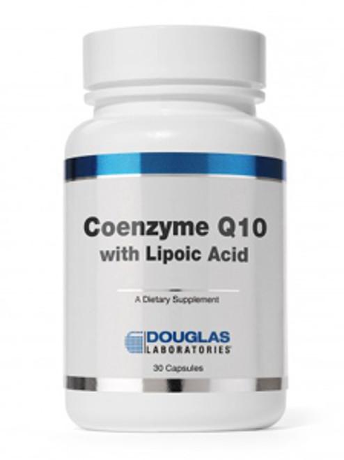 Coenzyme Q10 w/Lipoic Acid 60mg 30caps (COQ19)