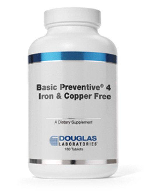 Basic Preventive 4 (FE&CU free) 180 tabs (BP4CA)