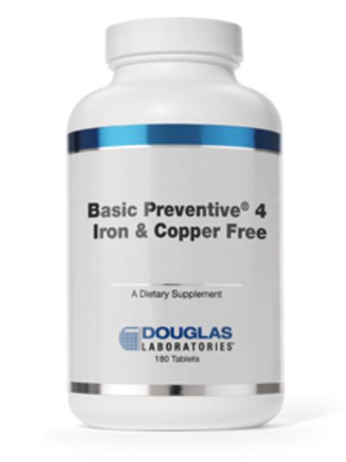 Basic Preventive 4 (FE&CU free) 180 tabs (BP4CA)