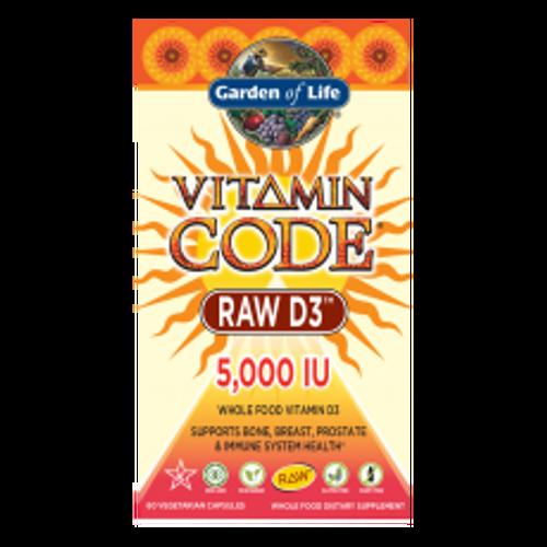 Vitamin Code RAW D3 5000 120 caps