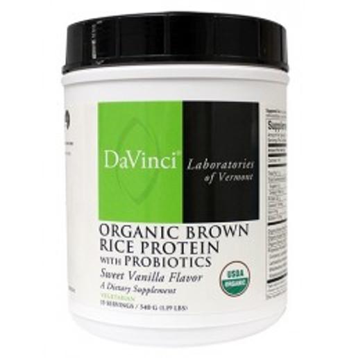 Organic Brown Rice Protein w/ Probiotics 540 g Powder (0200183.015)
